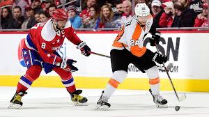 phliladelphia flyers hit vs capitals flyers vs capitals first round series preview