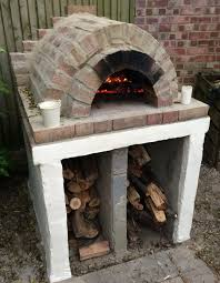 Homemade Outdoor Wood Fired Oven