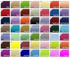 Princess Paint Colour Chart Automotive Paint Colors Online Charts Collection