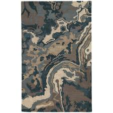 jaipur blue alabaster driftwood rectangular 2 ft x 3 ft rug
