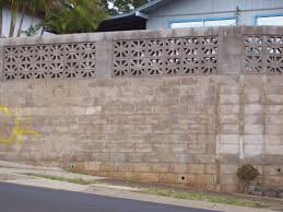 Small Picture Cinder Block Wall Design Inexpensive Concrete Block Retaining Wall