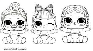 Amazing Lol Dolls Colouring Pages And Series 2 Page 11 Lol