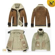 shearling leather jacket men cw860216 cwmalls com