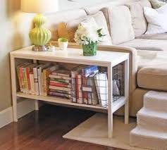 end table bookshelf rustic modern furniture check more with bookcase mirrored nest tables coffee baskets underneath