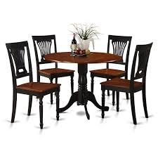 Amazoncom East West Furniture Dlpl5 Bch W 5 Piece Kitchen Table