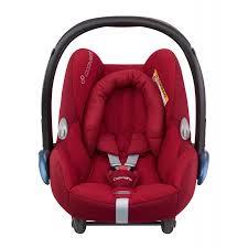maxi cosi cabriofix car seat group 0 robin red