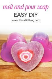 diy melt and pour soap easy diy