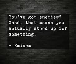 Famous Quotes About Enemies