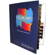 Color Design Hair Colour Chart Scruples Color Art Colour Chart