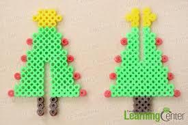 Sapindenoel3dperlesarepasserhama  Pixel Art  PinterestPerler Beads Christmas Tree