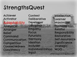 strengthsquest page peer into your career edward