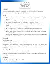 Machinist Resume Sample Machinist Resume Samples Machinist Resume