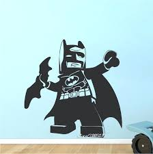 superhero wall decals mini cute batman stickers e co