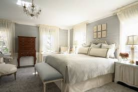traditional master bedroom grey. Blue And Gray Bedroom Idea Traditional Master Grey