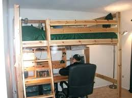 bunk bed office underneath. High Beds With Desk Underneath Bunk Bed Over Office Adult Loft King Size W