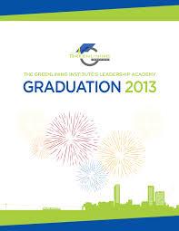 Graduation Program Template Pdf 2013 Academy Graduation Program The Greenlining Institute