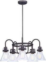 maxim 26117cdoi seafarer modern oil rubbed bronze lighting chandelier loading zoom