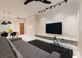 track lighting living room. Create An Elegant Statement With A White Brick Wall Track Lighting Living Room