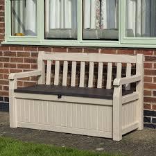 wooden garden storage box bench wooden garden storage box bench wood garden bench with storage bench