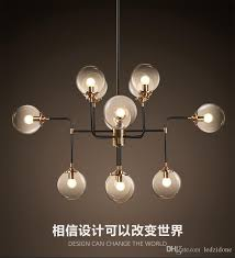 north europe style design modo magic bean pendant lamps 12 globes glass lampshade modo dna pendant lights for coffee clothing glass pendant light shades