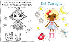 Small Picture Lalaloopsy Doll Coloring Pages Cartoon Pictures Bebo Pandco