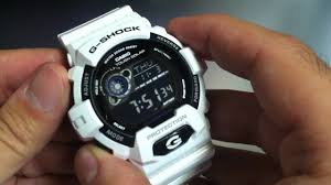 white casio g shock tough solar watch gr8900a 7
