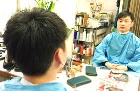 多くて硬い髪のメンズカット 国立エリアの訪問美容ヘアセットなら