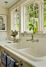 high back kitchen sink doubtful white vintage style farm original