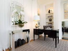 neutral office decor. 1-windowless-room-interior-design-recessed-lighting-niches- Neutral Office Decor O