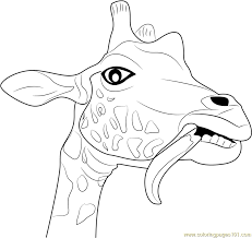 Giraffe Coloring Pages To Print Out Jokingartcom Giraffe Coloring