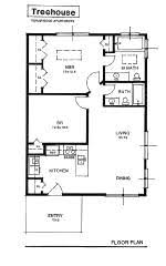 tree house floor plans for adults. Tree-house 2 Bedroom Flat Apartment In Grey Tennessee Tree House Floor Plans For Adults