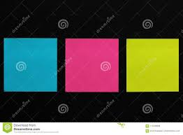 Colorful Stickers On Black Background Stock Image Image Of Design