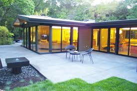 modern concrete patio. Mid Century Modern Eichler-esque Remodel Windows Contemporary-patio Concrete Patio C
