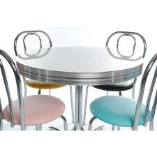 Retro Kitchen Chairs For Classic Retro American Diner Furniture Accessories From The