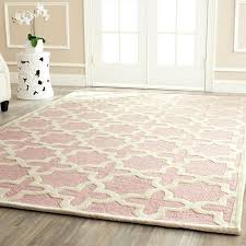 pink and gold rug chesalka