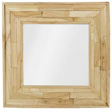 wood mirror frame. Wood Mirror Frame. Delighful Urbn Liivng Square Wall Mounted Wooden Retro 50x50cm Frame