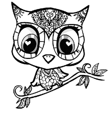 Small Picture Coloring Pages Of Owls To Print Www Mindsandvines Com Coloring