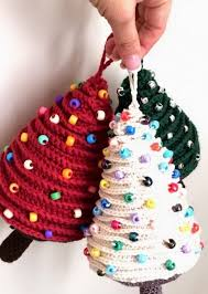 Fabulous christmas decoration ideas using candles Jar Mini Crochet Christmas Tree Ornaments Teamne 20 Easy Crochet Ornaments And Projects For Christmas For Creative