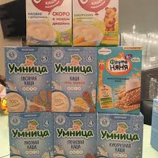 <b>Каши молочные Умница</b>, Винни, Фруто няня – купить в ...