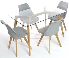 glass and wood dining table. Glass Table Dining Set Attractive And Wood Regarding Room Tables On With Plans . D