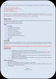 freshers chennai 10apr2011 chetanas 1 cv samples for freshers resume format for mca student