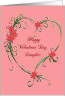 happy valentine s day daughter.  Day Happy Valentines Day Daughter Card To Valentine S