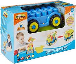 online store winfun i builder 2 in 1 truck block set by winfun winfun i builder 2 in 1 truck block set by winfun