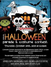 Halloween Costume Contest Flyer 2019