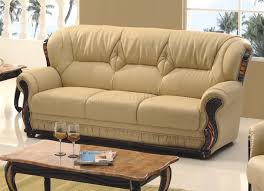 Sofa in Honey Bonded Leather by American Eagle Furniture
