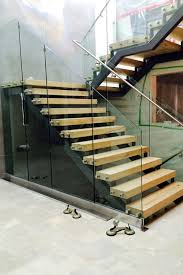 stainless steel staircase glass railing stainless steel staircase glass railing
