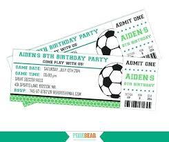 Free Football Invitation Templates Football Ticket Template Gotostudy Info
