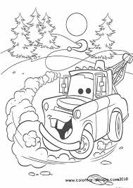 Disney Cars Christmas Coloring Pages | Great free clipart ...