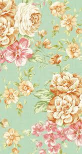 Vintage Floral Print Iphone 5 Wallpapers Vintage Flower Print 3 Wallpaper Flowers