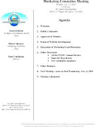 Planning Meeting Agenda Template Annual Planning Meeting Agenda Template